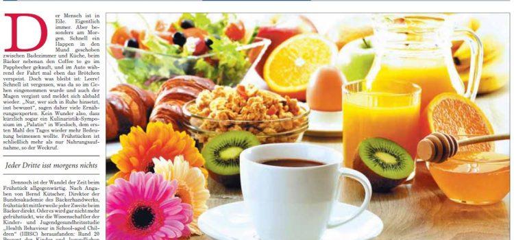 Frühstück: Das gesunde erste Mahl