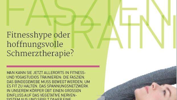 Faszientraining – Fitnesshype oder Schmerztherapie?