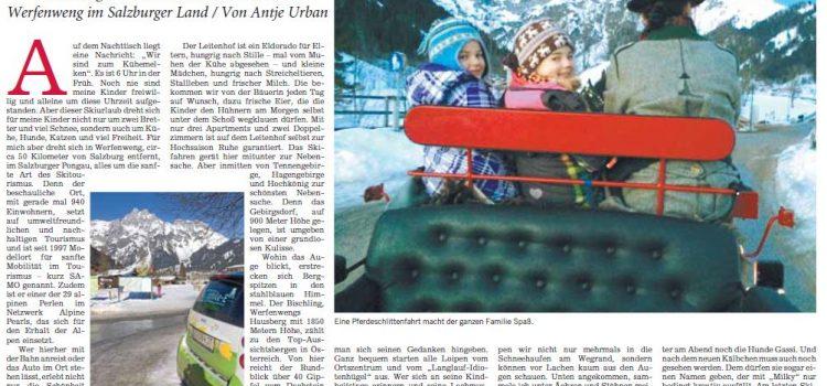 Öko-Skiurlaub mit Kindern in Werfenweng