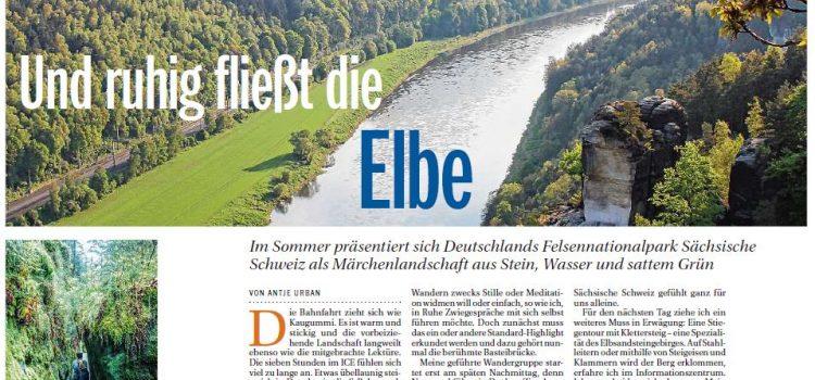 Und ruhig fließt die Elbe
