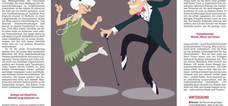 Tanzen gegen Demenz